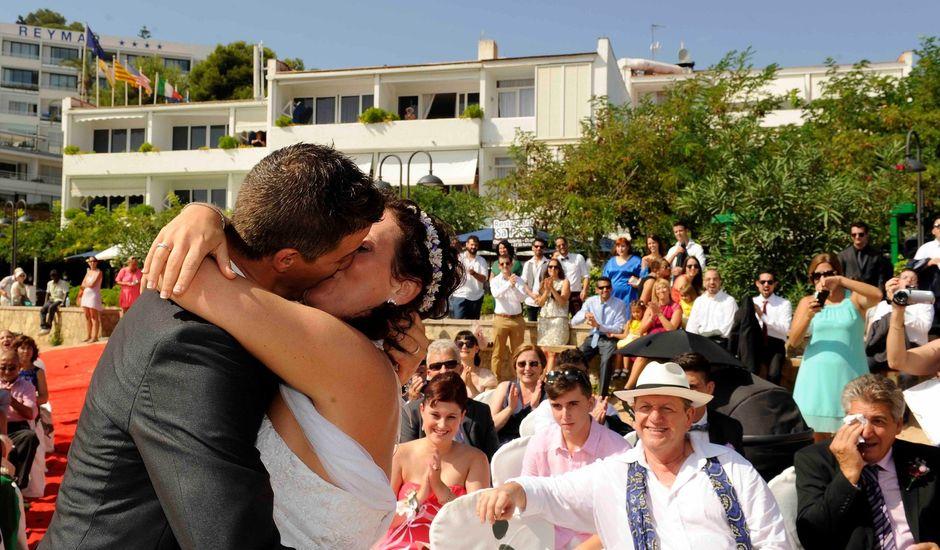 La boda de Guillermo y Olga en Tossa De Mar, Girona
