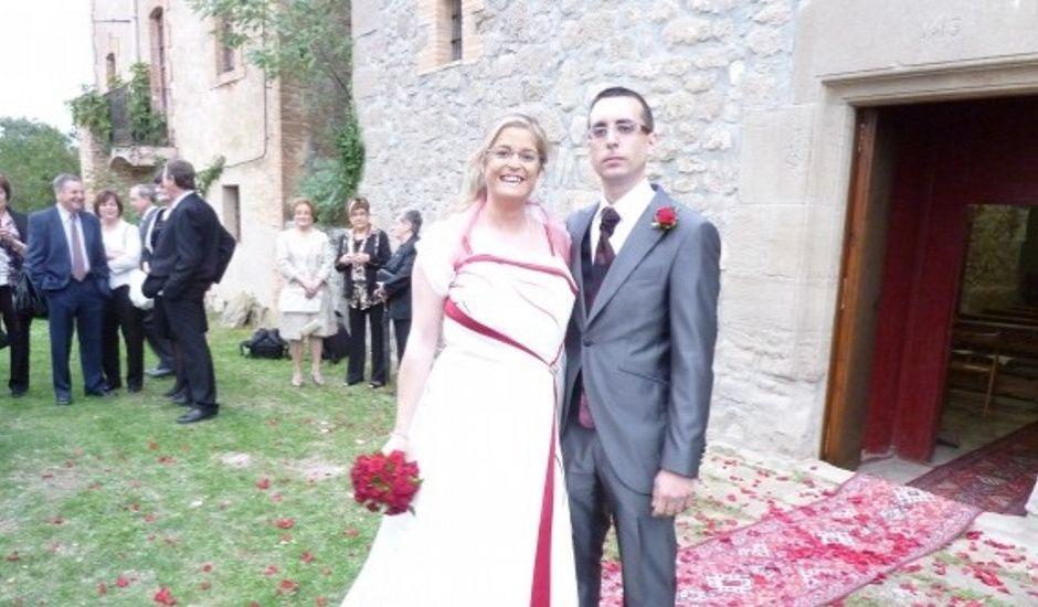 La boda de Sandra y Jordi en Santa Maria De Merles, Barcelona