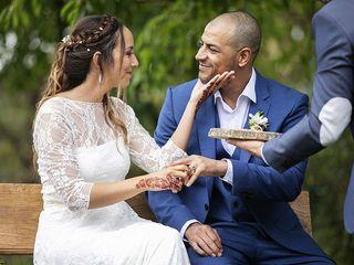 La boda de Clara y Rochdi 1