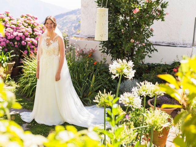 La boda de Juanjo y Alexandra en Bubion, Granada 20