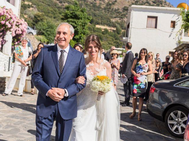 La boda de Juanjo y Alexandra en Bubion, Granada 26