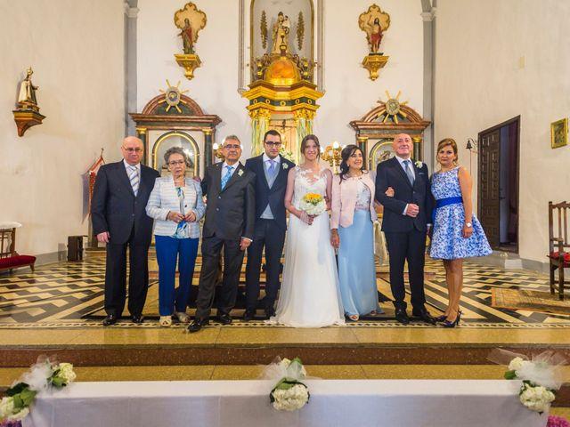 La boda de Juanjo y Alexandra en Bubion, Granada 43
