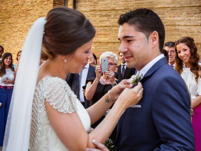 La boda de Cristian y Sheila en Villanueva De Gallego, Zaragoza 13