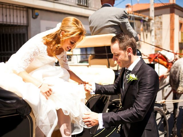 La boda de Antonio y Ana en Ávila, Ávila 1