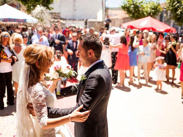 La boda de Antonio y Ana en Ávila, Ávila 29