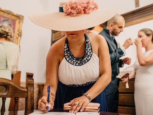La boda de Fran y Ana en Consuegra, Toledo 84