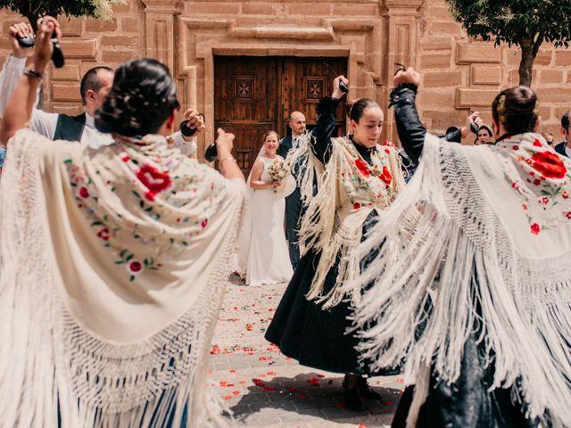La boda de Fran y Ana en Consuegra, Toledo 90