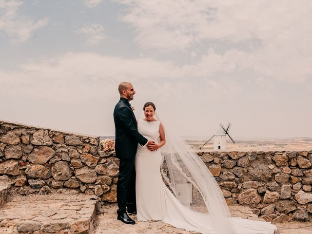 La boda de Fran y Ana en Consuegra, Toledo 95