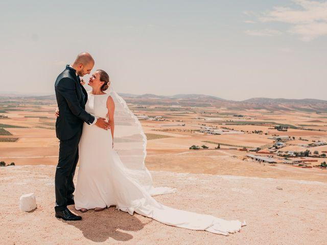 La boda de Fran y Ana en Consuegra, Toledo 107