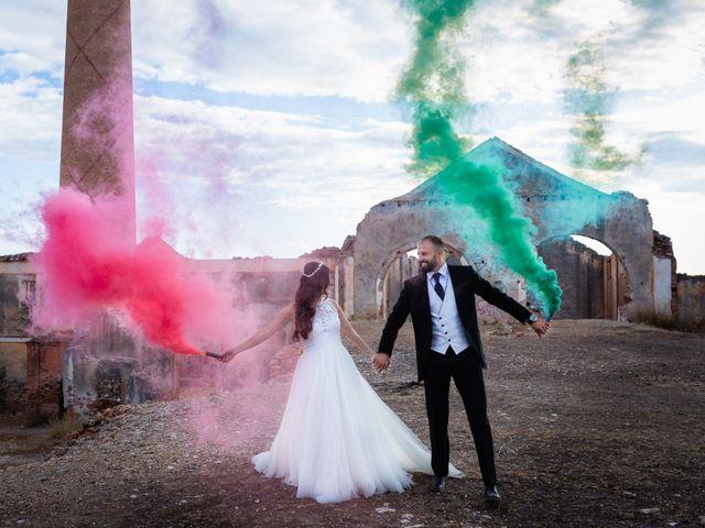 La boda de Cesar y Maria en Castell De Ferro, Granada 1