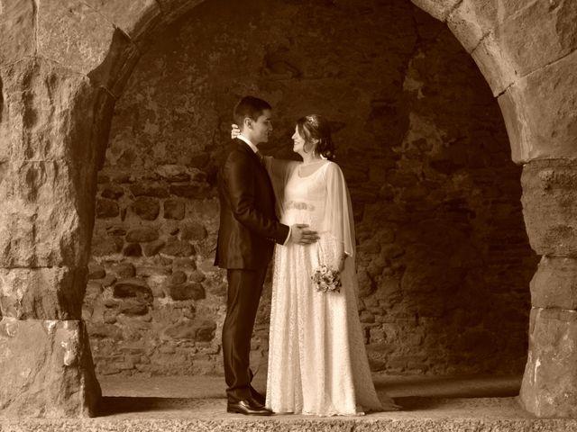 La boda de Alba y Óscar en Caldes De Montbui, Barcelona 2