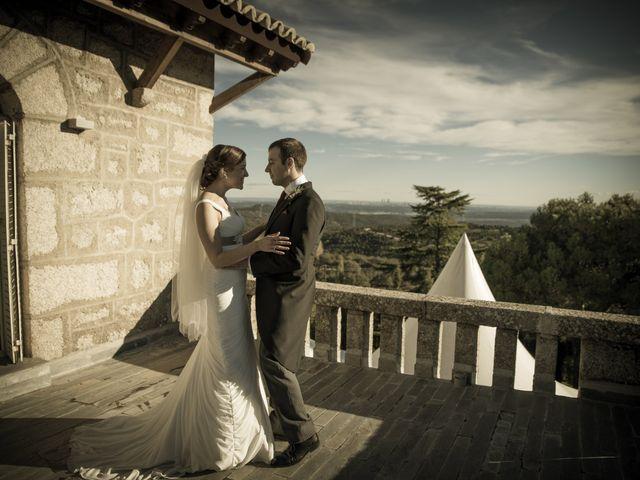 La boda de Benedicto y Vanesa en Hoyo De Manzanares, Madrid 13