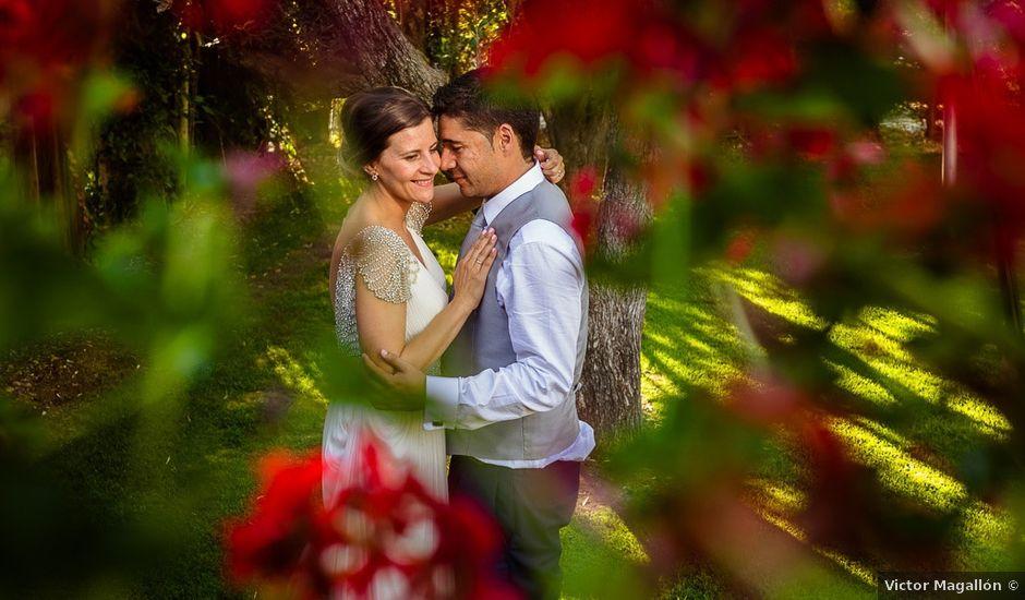 La boda de Cristian y Sheila en Villanueva De Gallego, Zaragoza