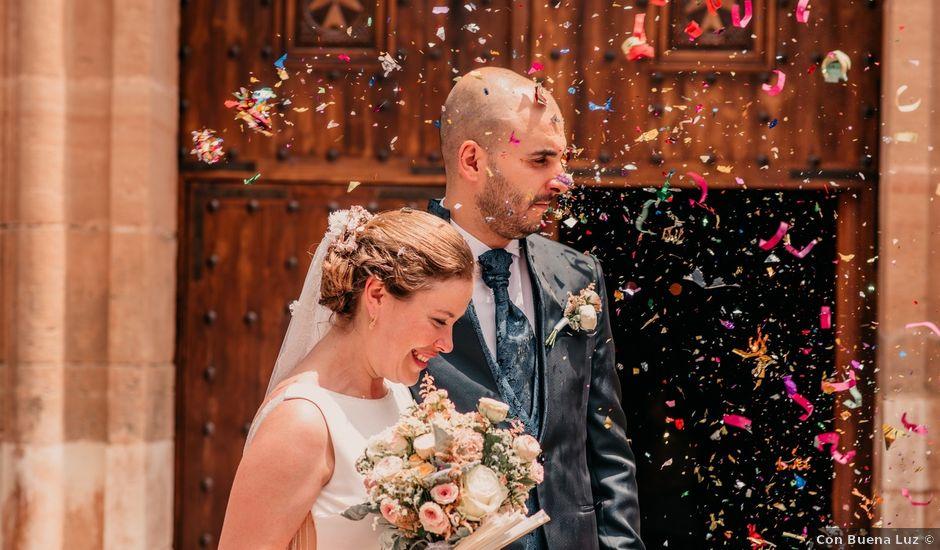 La boda de Fran y Ana en Consuegra, Toledo