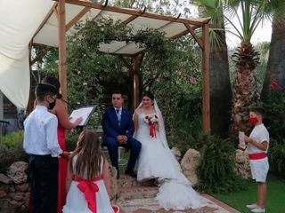 La boda de Crina y Fran