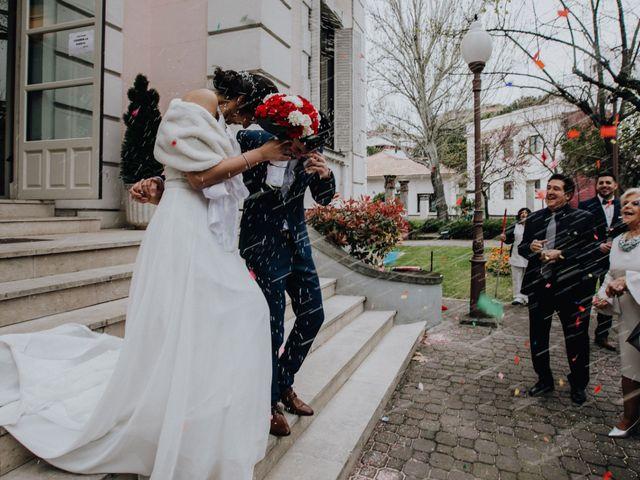 La boda de Jose y Marta en Madrid, Madrid 78