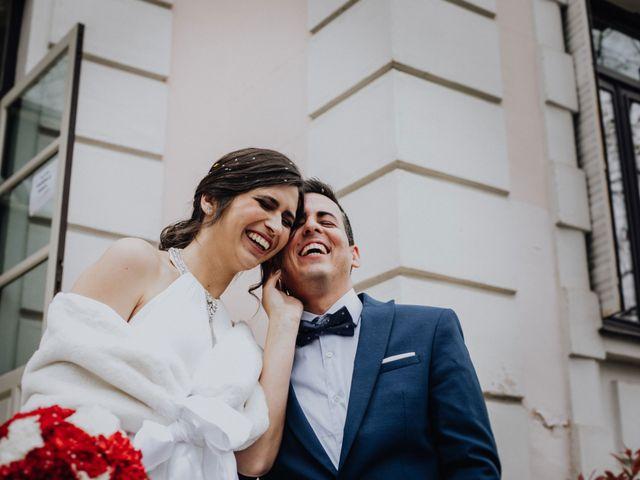 La boda de Jose y Marta en Madrid, Madrid 83