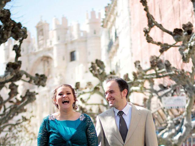 La boda de Víctor y Raquel en Burgos, Burgos 13