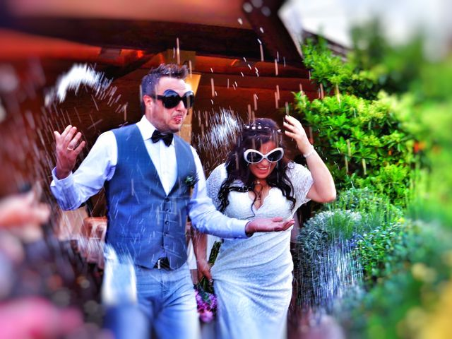 La boda de Vicens  y Ana en Sentmenat, Barcelona 1