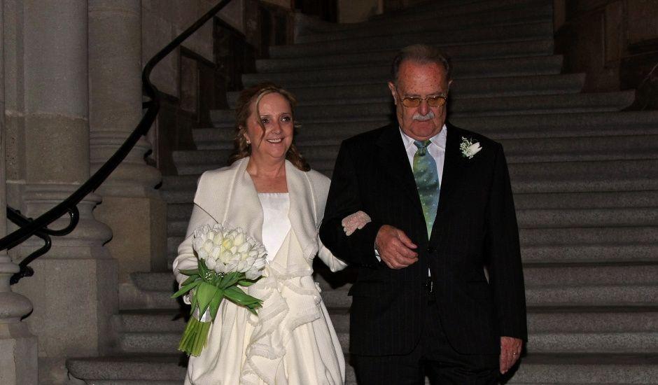 La boda de David y Fina en Barcelona, Barcelona