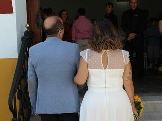 La boda de Estefanía  y Guerra  2