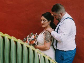 La boda de Tania  y Jonay  2