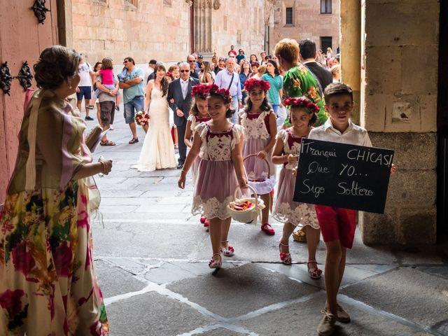 La boda de David y Laura en Topas, Salamanca 4