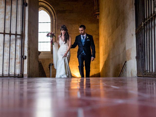 La boda de David y Laura en Topas, Salamanca 16