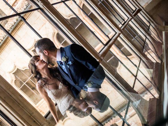 La boda de David y Laura en Topas, Salamanca 17