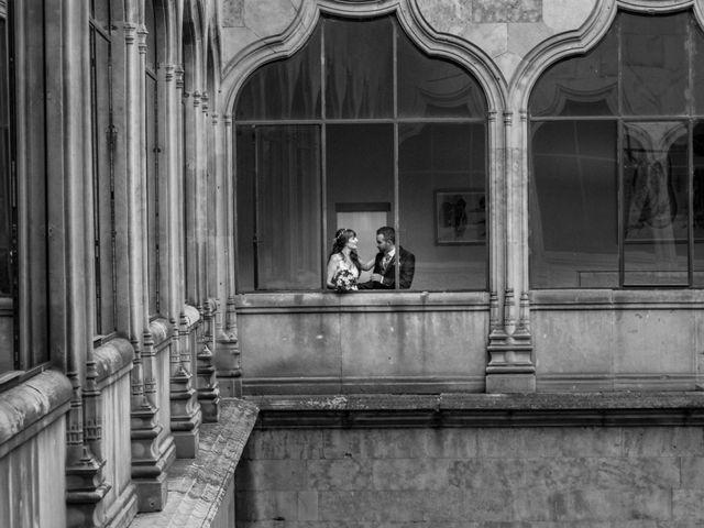 La boda de David y Laura en Topas, Salamanca 18