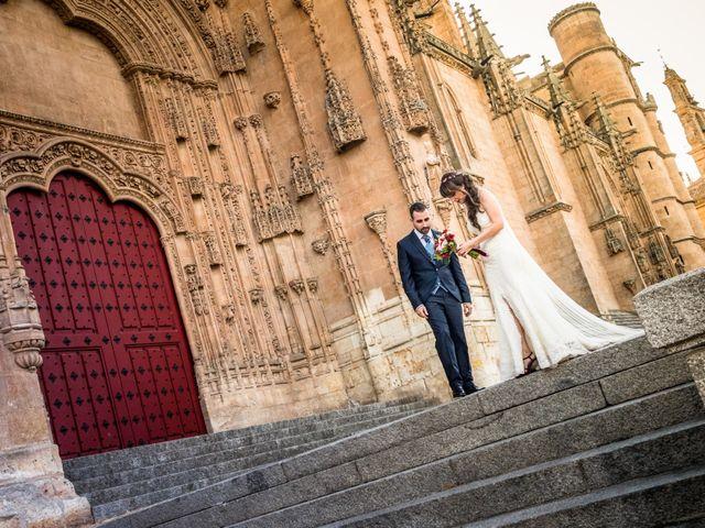 La boda de David y Laura en Topas, Salamanca 20