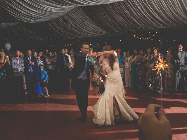 La boda de David y Laura en Topas, Salamanca 35
