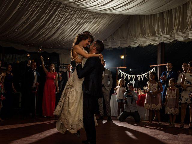 La boda de David y Laura en Topas, Salamanca 2