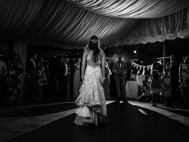 La boda de David y Laura en Topas, Salamanca 36