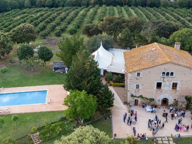 La boda de Héctor  y Judit en Sant Dalmai, Girona 1