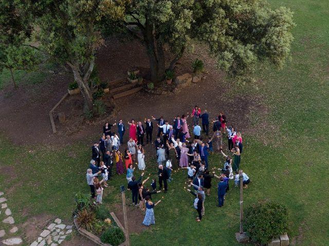 La boda de Héctor  y Judit en Sant Dalmai, Girona 6