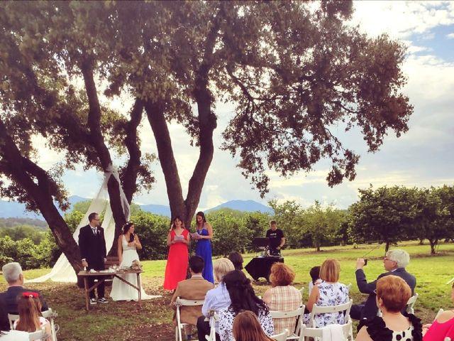La boda de Héctor  y Judit en Sant Dalmai, Girona 8