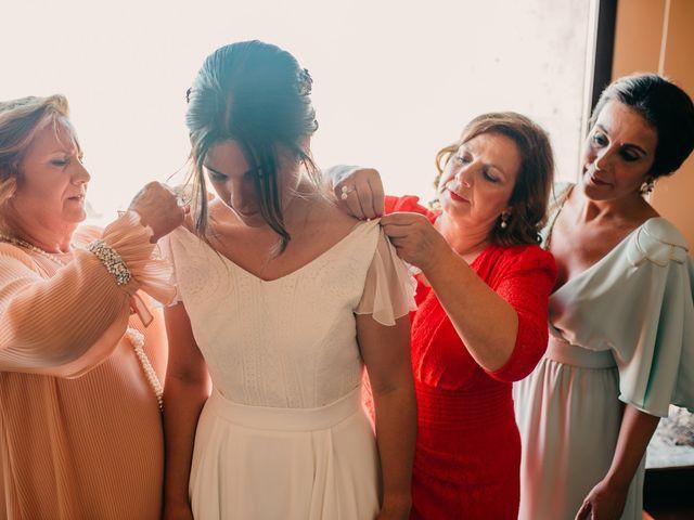 La boda de Toni y María en Caracuel De Calatrava, Ciudad Real 48