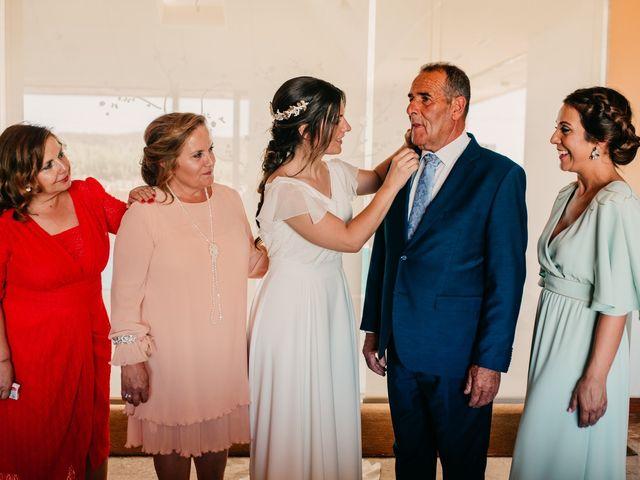 La boda de Toni y María en Caracuel De Calatrava, Ciudad Real 50