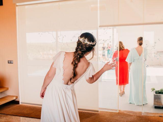 La boda de Toni y María en Caracuel De Calatrava, Ciudad Real 52