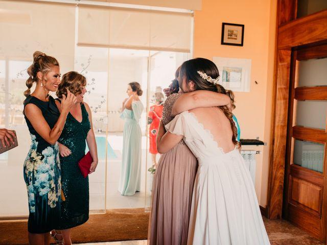 La boda de Toni y María en Caracuel De Calatrava, Ciudad Real 53