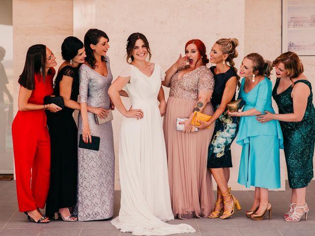 La boda de Toni y María en Caracuel De Calatrava, Ciudad Real 54