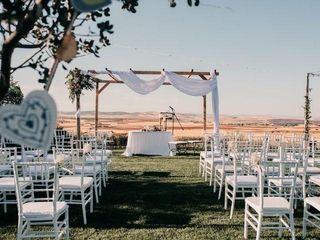 La boda de Toni y María en Caracuel De Calatrava, Ciudad Real 58
