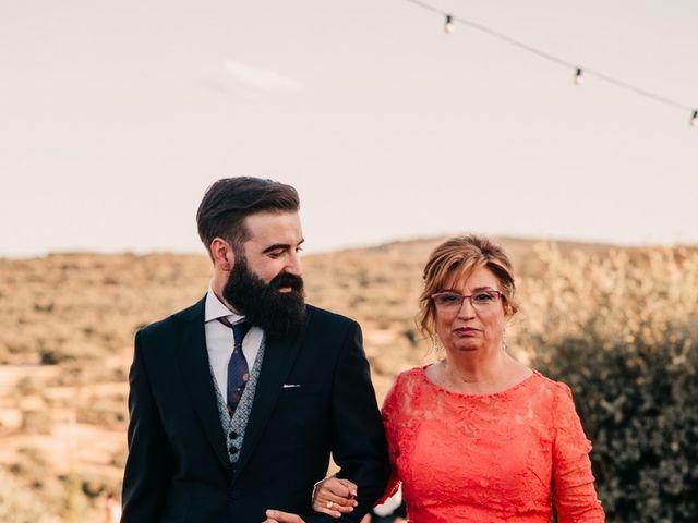 La boda de Toni y María en Caracuel De Calatrava, Ciudad Real 63