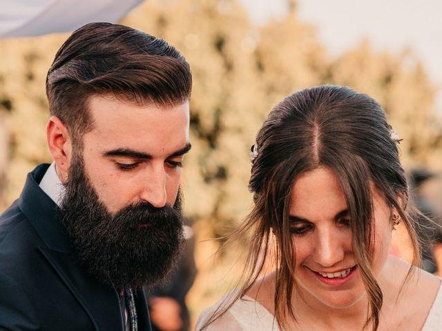 La boda de Toni y María en Caracuel De Calatrava, Ciudad Real 69