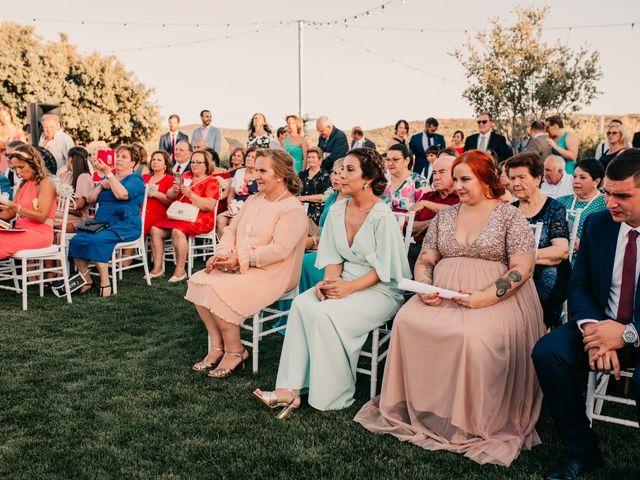 La boda de Toni y María en Caracuel De Calatrava, Ciudad Real 70