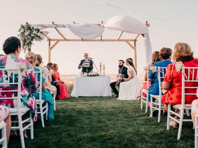 La boda de Toni y María en Caracuel De Calatrava, Ciudad Real 71