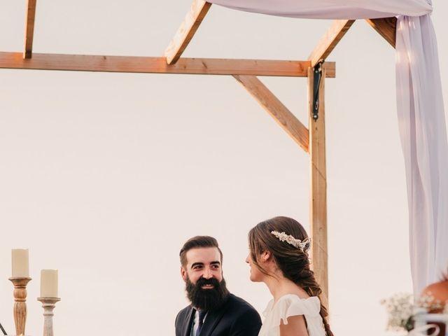 La boda de Toni y María en Caracuel De Calatrava, Ciudad Real 72