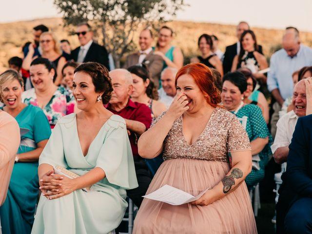 La boda de Toni y María en Caracuel De Calatrava, Ciudad Real 73