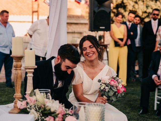 La boda de Toni y María en Caracuel De Calatrava, Ciudad Real 74